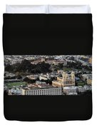 University Of San Francisco Aerial Photo Duvet Cover