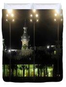 University Of Tampa Lights Duvet Cover