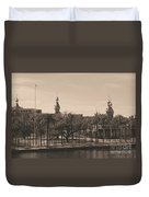 University Of Tampa With Old World Framing Duvet Cover