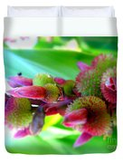 Unknown Flower Seeds Duvet Cover