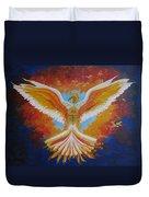Unleashing The Holy Spirit Duvet Cover