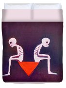 Until Death Do Us Part Duvet Cover