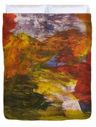 Untitled 113 Original Painting Duvet Cover