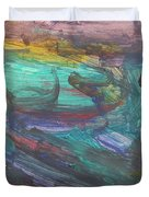 Untitled 118 Original Painting Duvet Cover