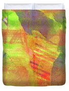 Untitled #13 Abstract Multicolor Duvet Cover