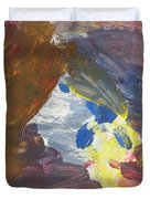 Untitled 139 Original Painting Duvet Cover