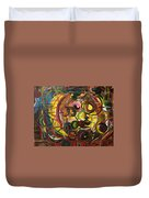 Untitled Abstract  Duvet Cover