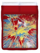 Forces Of Gravity Duvet Cover