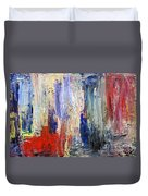 Untitled Abstract #5 Duvet Cover