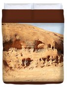 Unusual Rock Formation Duvet Cover