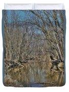 Up A Creek Duvet Cover