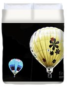 Up On The Air Duvet Cover