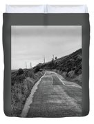 Up That Hill Duvet Cover