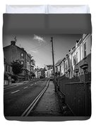 Up The Hill Duvet Cover