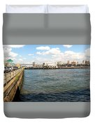 Up The River Duvet Cover