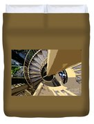 Up The Spiral Staircase Duvet Cover