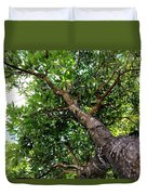 Up The Tree Duvet Cover