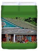 Upcountry Chimes Duvet Cover