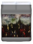 Upheaval Of The Night  Duvet Cover