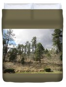 Uphill From Here Duvet Cover