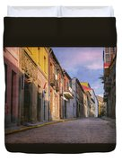 Uphill In Avila Duvet Cover