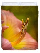 Uplifting Lily Duvet Cover