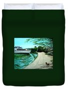 Upon Ashore Duvet Cover