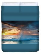 Upon Day's End Duvet Cover