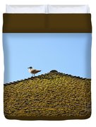 Upon The Roof Duvet Cover