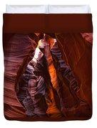 Upper Antelope Canyon, Arizona Duvet Cover