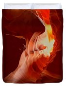 Upper Antelope Canyon Textures Duvet Cover