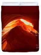Upper Antelope Sunlit Layers Duvet Cover