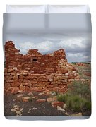 Upper Box Canyon Ruin Duvet Cover