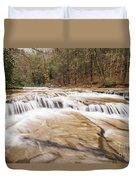 Upper Campbell Falls Duvet Cover