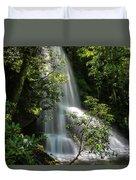 Upper Catawba Falls Duvet Cover