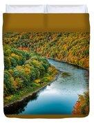 Upper Delaware River Duvet Cover