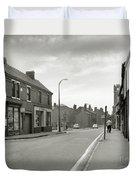 Upper High Street, Lye - 1960's    Ref-63 Duvet Cover