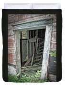 Upper Hoist Doorway Duvet Cover