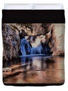 Upper Jemez Falls New Mexico Duvet Cover