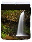 Upper Latourelle Falls Duvet Cover