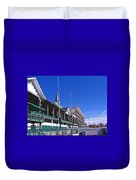 Upper Level Viewing Stands At Churchill Downs Duvet Cover