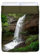 Upper Piney Falls Duvet Cover