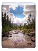 Upper Provo, Early Fall Duvet Cover