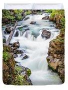 Upper Rogue River Duvet Cover