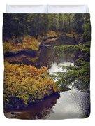 Upper Salamander Creek Duvet Cover
