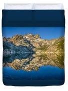 Upper Sardine Lake Panorama Duvet Cover