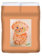 Upright Puppy Duvet Cover