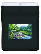 Upriver Duvet Cover