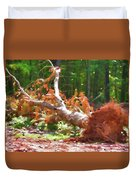 Uprooted Trees Duvet Cover