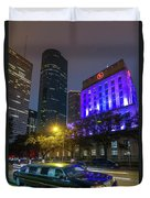 Uptown Downtown Duvet Cover